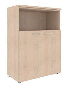 Шкаф с глухими малыми дверьми и топом XMC 85.3 850х410х1165