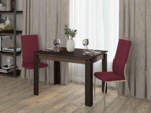 Обеденный стол Орфей 16 Венге-Зебрано (1120/1520/1920x750x760)