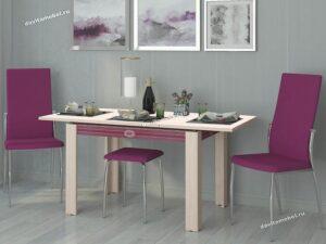 Обеденный стол Орфей 15.12 Кобург (1100/1600x750x760)