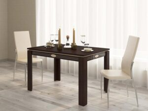 Обеденный стол Орфей 14.13 Венге-Танзай (1200/1700x800x750)
