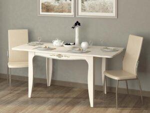 Обеденный стол Орфей 32.10 Астрид-Ваниль (1200/1700х800х760)