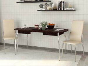 Обеденный стол Орфей 30.10 Венге (1200/1600/2000x750x750)