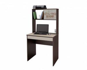 Стол с надстройкой Орион 5.10 Венге-Кобург (1660х800х700)