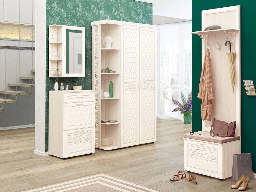 Угловой набор мебели для прихожей Тиффани 2 (1820х600)