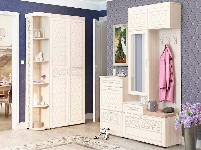 Угловой набор мебели для прихожей Тиффани 5 (1220х1500)