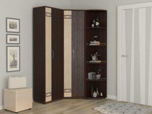 Угловой шкаф в комплекте Триумф 6 (1350х1130)