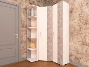 Угловой шкаф в комплекте Фреска 12 (1110х1210)