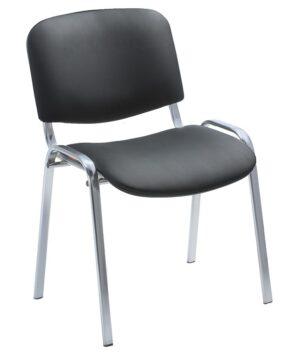Офисное кресло ИЗО ХРОМ (искусственная кожа)