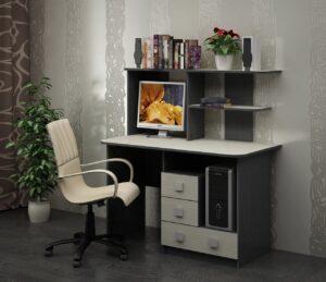 Стол компьютерный Гиацинт 2 (1200х600х1256)