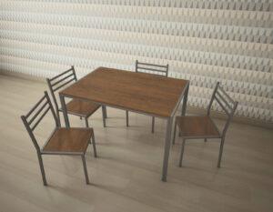 Стол обеденный Аликанте (750х1100х750)