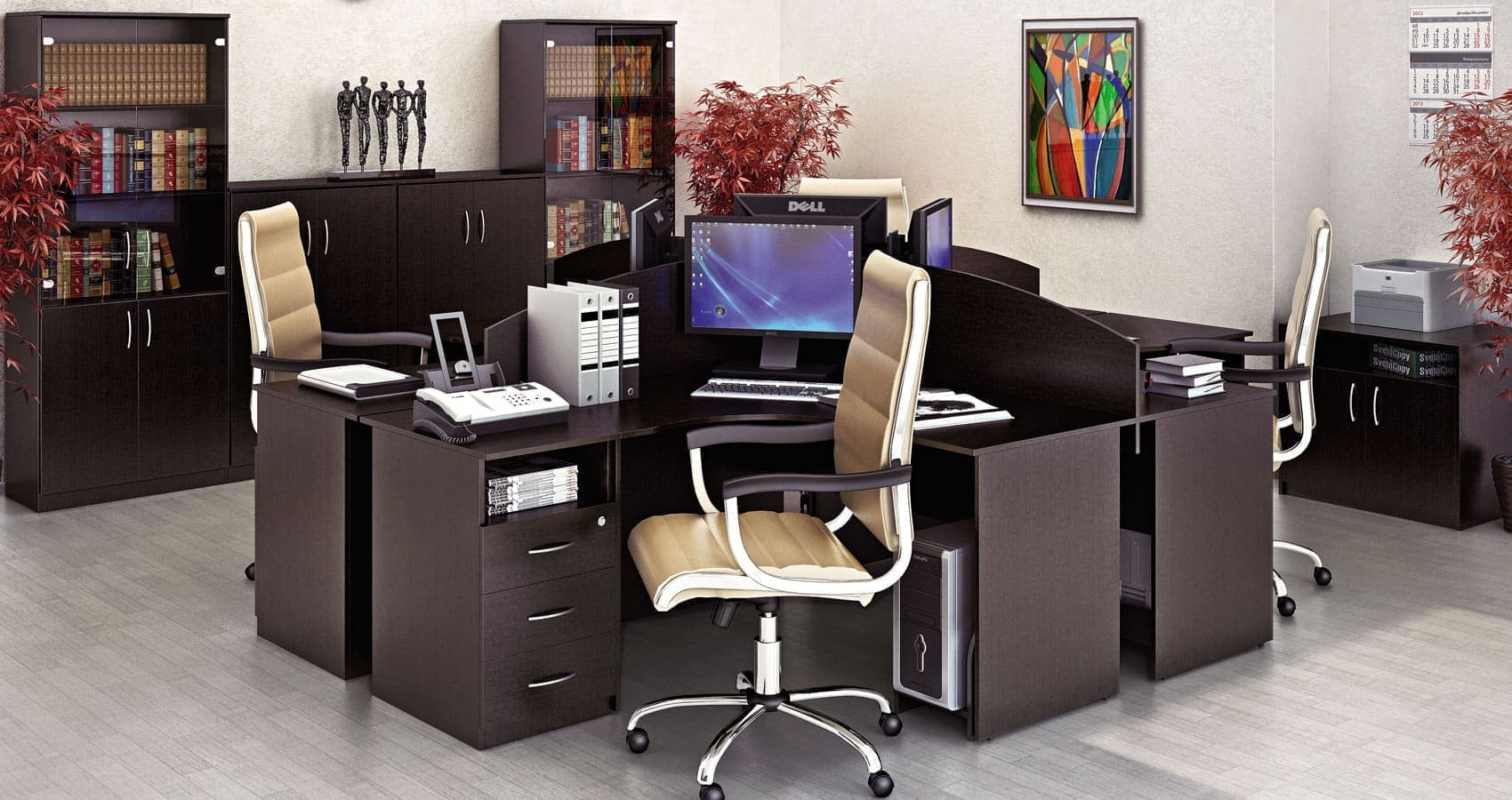 Стол письменный В.СП-1 (1000х650х750)