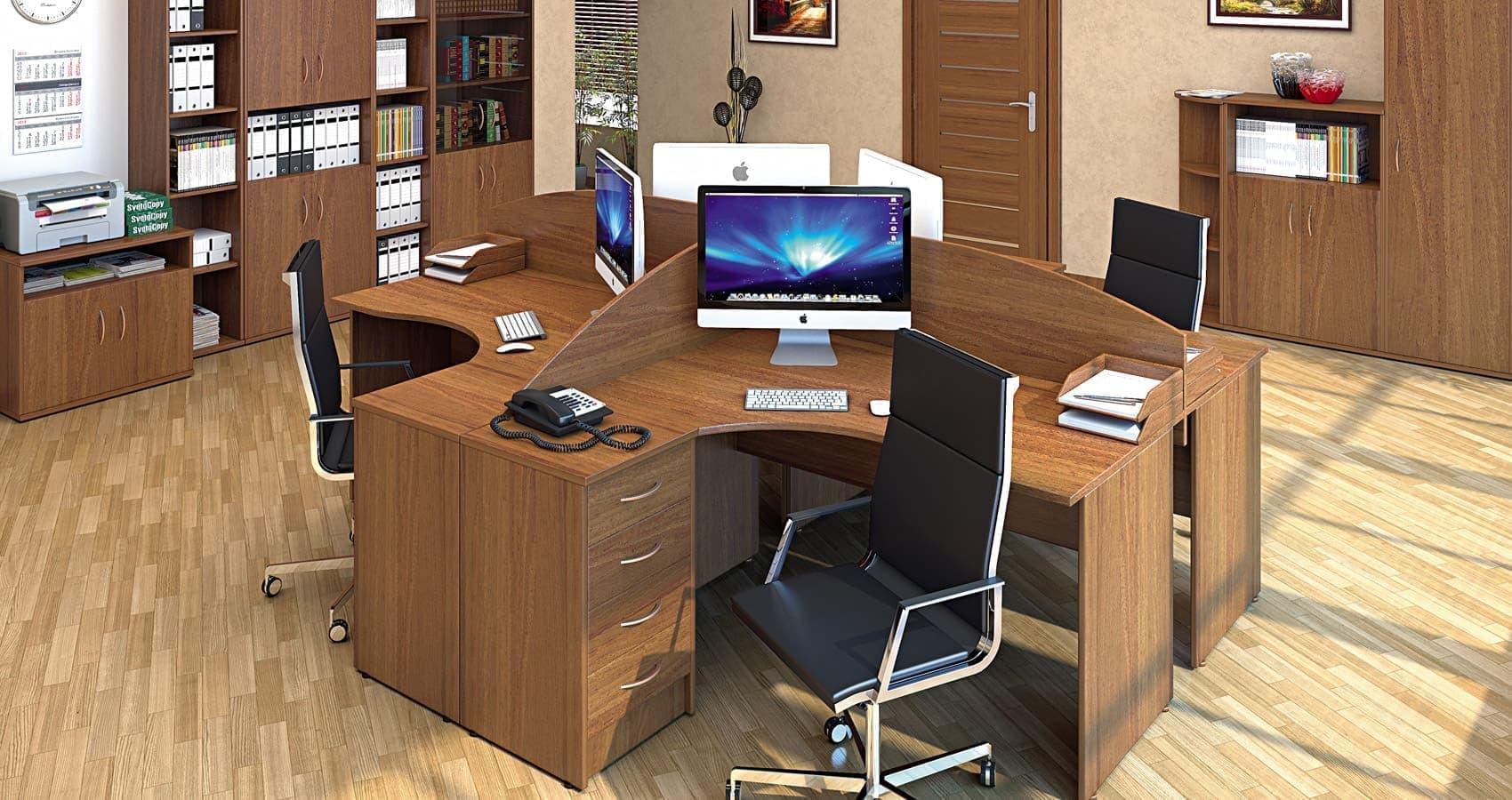 Стол письменный А.СП-1.1 (900х600х750)