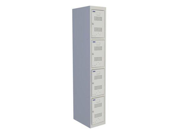 Шкаф для раздевалки ПРАКТИК УСИЛЕННЫЙ ML 14-30 (1830x300x500)