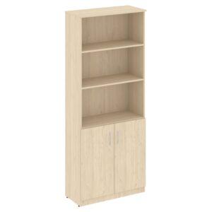 Шкаф высокий широкий (2 низкие двери ЛДСП) В.СТ-1.1 (770х360х1915)