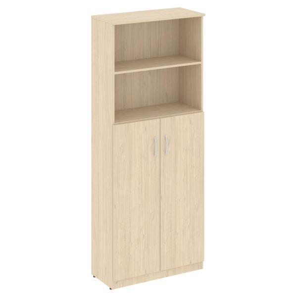 Шкаф высокий широкий (2 средние двери ЛДСП) В.СТ-1.6 (770х360х1915)