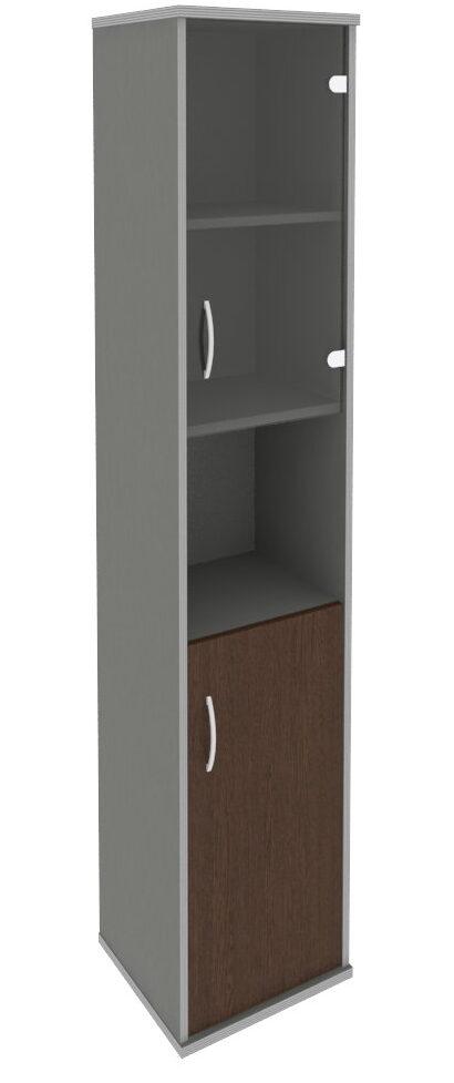 Шкаф высокий узкий А.СУ-1.4 Л/Пр (404х365х1980)
