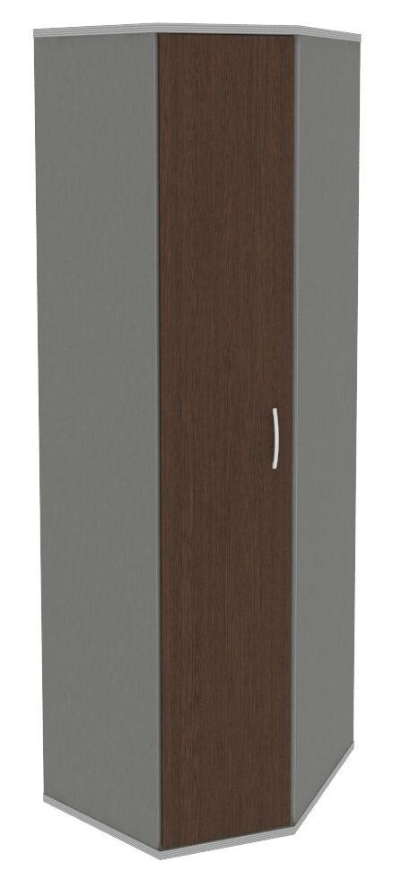 Гардероб угловой (выдвижная вешалка) А.ГБ-3 угловой (600х600х1980)