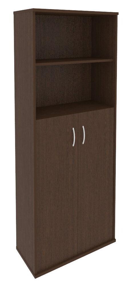 Шкаф высокий широкий (2 средние двери ЛДСП) А.СТ-1.6 (770х365х1980)