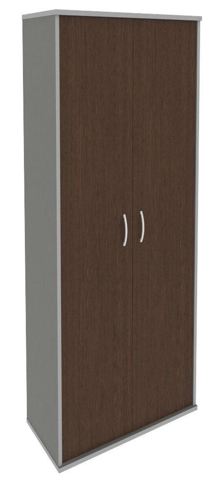 Шкаф высокий широкий (2 высокие двери ЛДСП) А.СТ-1.9 (770х365х1980)