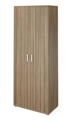 Стеллаж высокий широкий НТ-580 с дверьми НТ-602.2 (800х445х2050)
