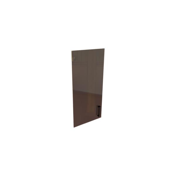 Дверь стекло в алюминиевой рамке К-979 356x20x1165 Л/ПР