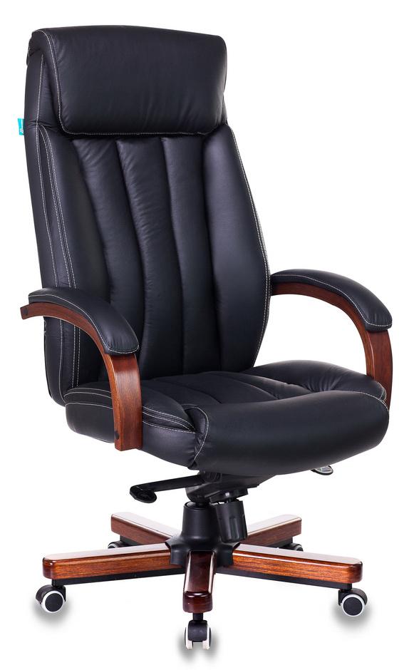 Офисное кресло Бюрократ T-9922WALNUT